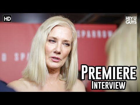 Joely Richardson - Red Sparrow Premiere Interview