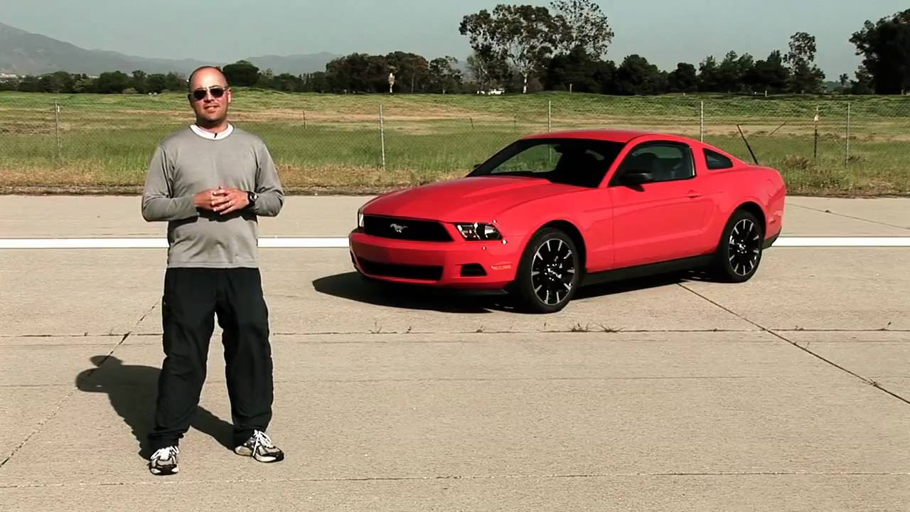 First Test 2011 Ford Mustang V6