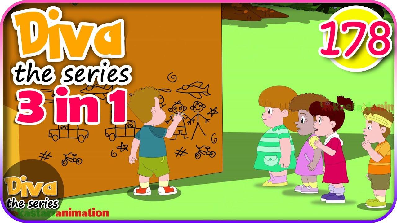 Seri Diva 3 in 1 | Kompilasi 3 Episode ~ Bagian 178 | Diva The Series Official
