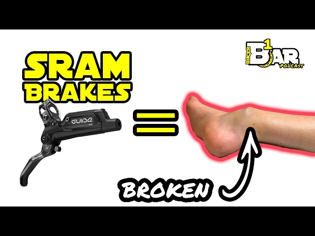 Why this guy will NEVER use SRAM brakes AGAIN!!! - B1KER Bar Bits