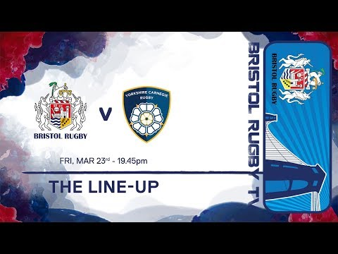 The Line-Up: Yorkshire Carnegie
