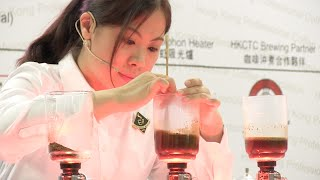 Elaine Wong 黃雨寧 (UCC Coffee Shop) - 2014 HKSC Final