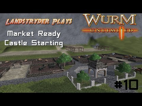 Wurm Unlimited - Strydenberg Server - Market Ready and Castle Starting