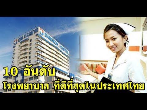 เปิดโผ!! 10 อันดับ โรงพยาบาลที่ดีที่สุดในประเทศไทย ผู้ที่กำลังป่วยอยู่ห้ามพลาด!