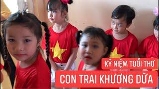 Con trai Khương Dừa biểu diễn văn nghệ cùng các bạn, kỷ niệm tuổi thơ!