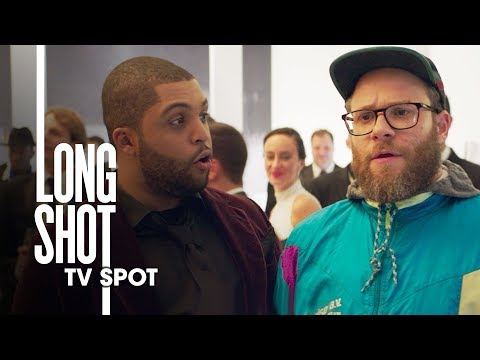 """Long Shot (2019 Movie) Official TV Spot """"Dope"""" – Seth Rogen, Charlize Theron"""