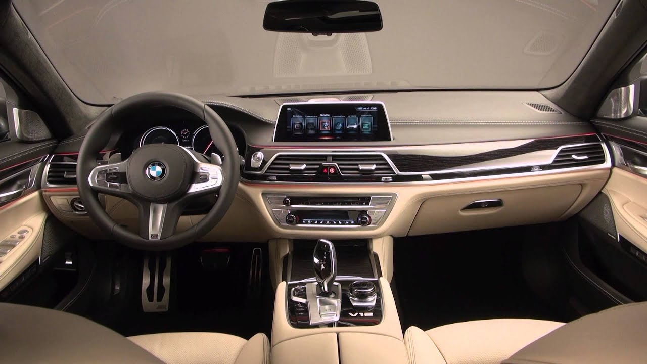 Bmw M760i Xdrive V12 Interior Youtube