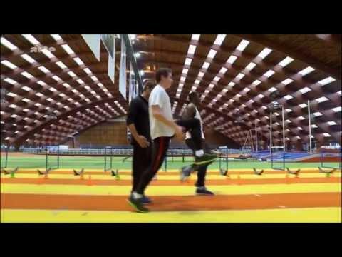 Sport La beauté du geste 110m haies