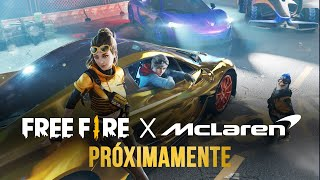 Free Fire x McLaren 🔥 ¡PRÓXIMAMENTE! | Garena Free Fire