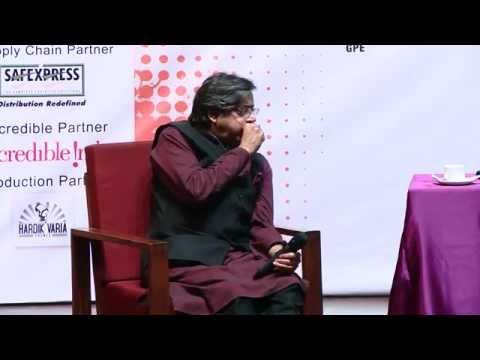 Shashi Tharoor at IIM Ahmedabad Chaos (25th January 2015)