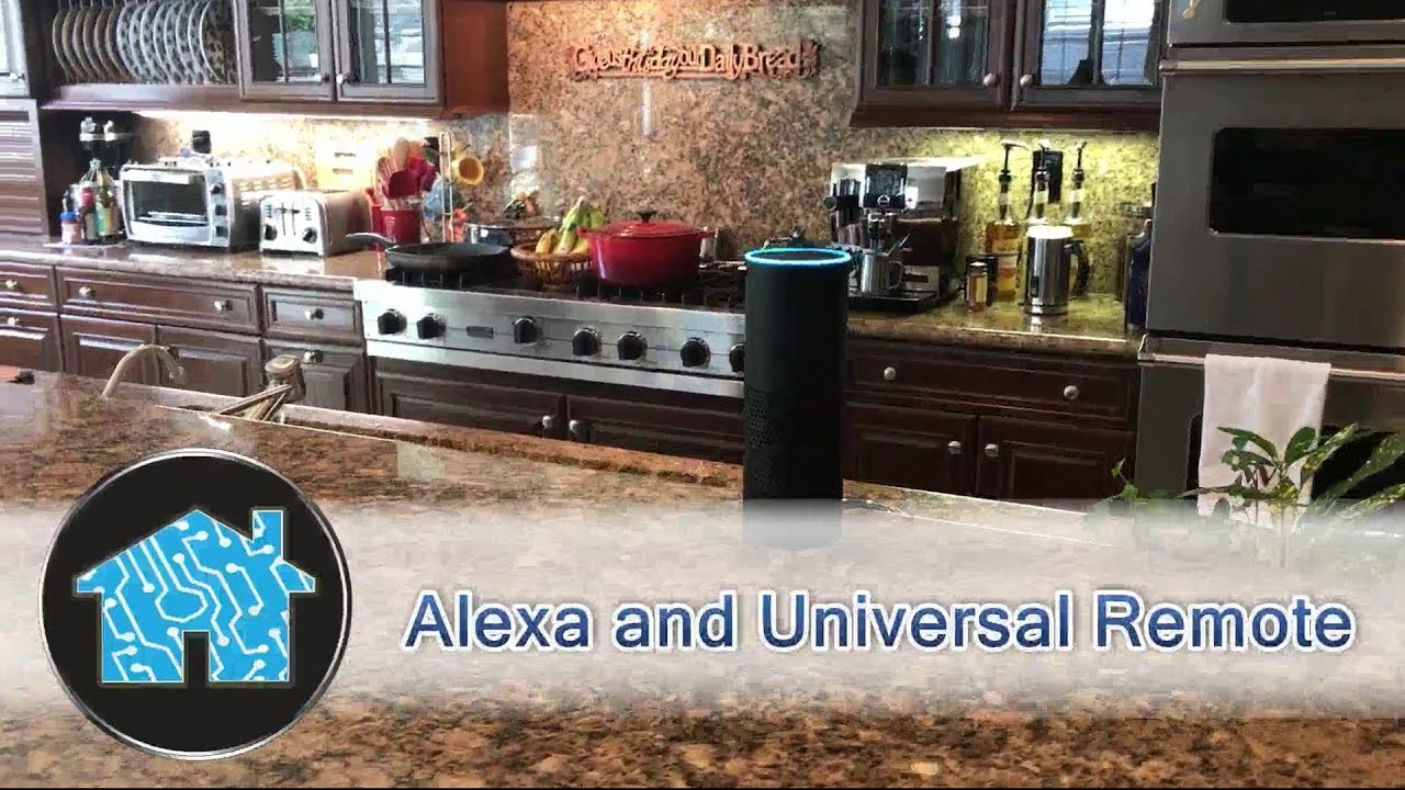 Alexa and Universal Remote Control