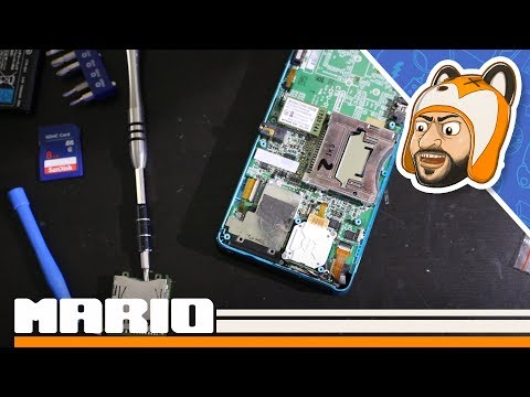 Let's Repair! - Original 3DS With a Faulty SD Card Slot