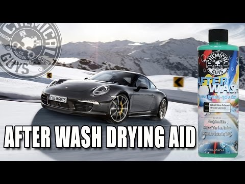 Scratchless Car Drying - Chemical Guys After Wash
