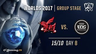 ahq vs EDward Gaming - World Championship 2017 - Group Stage - Day 8 - League of Legends