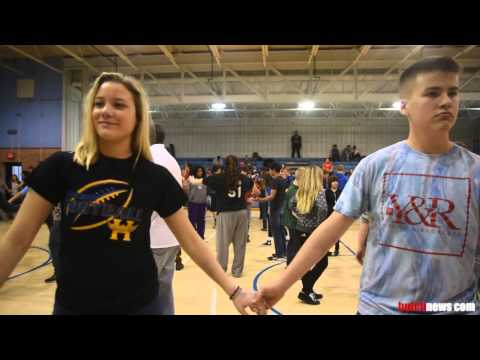 Square Dancing at Hutch High
