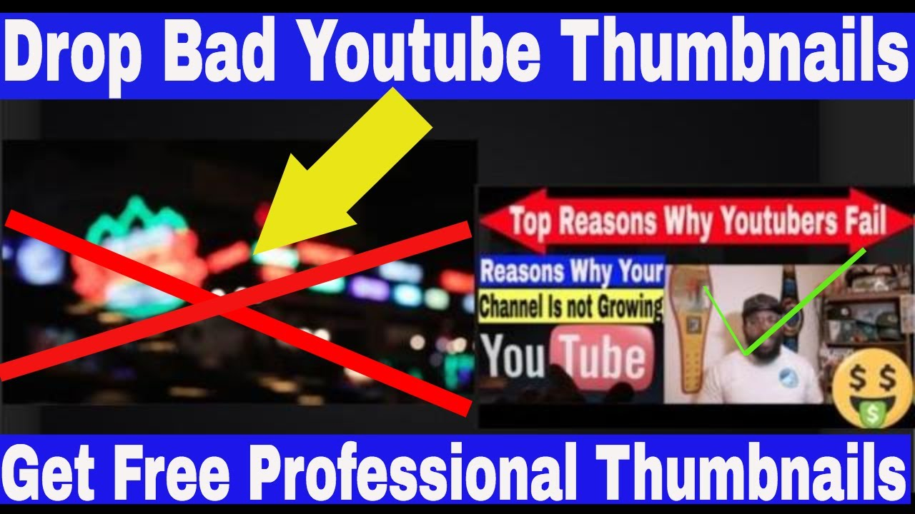 How To Make Better Youtube Thumbnails | Step by Step Process to get Free Thumbnails on any Computer