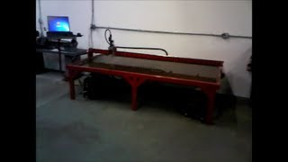 Scratch Built Cnc Plasma Table Diy Built In A Professional Fabrication Shop