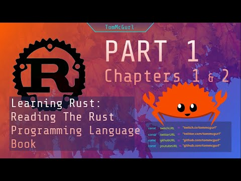 Learning Rust Together! Going through the Rust Programming book!