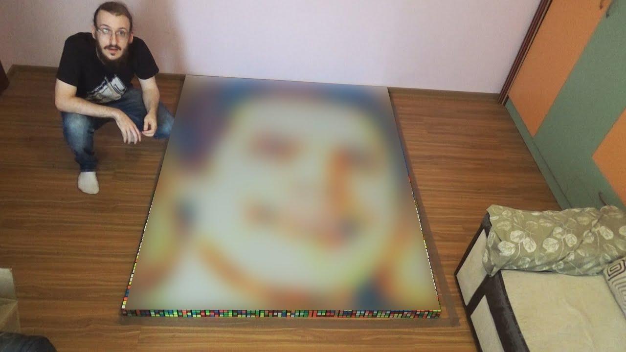 Roomie Rubik's Cube Portrait | Ep. 85