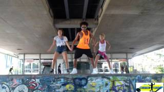 one wine machel montano & sean paul ft. major lazer- Caribbean Flavour- Coreografia by Cheeky