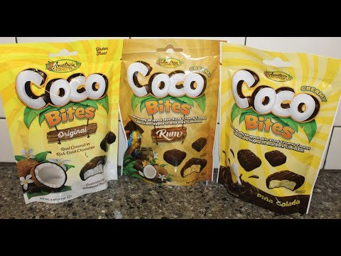 Anastasia Confections Coco Bites: Original, Rum & Pina Colada Review