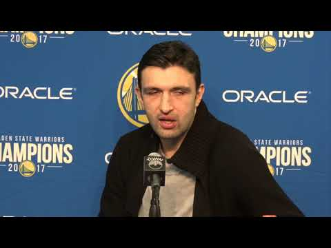 Zaza Pachulia Postgame Interview / GS Warriors vs Grizzlies / Dec 30