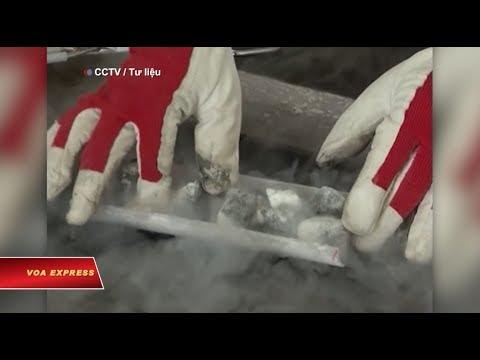Trung Quốc 'phá kỷ lục' khai thác băng cháy ở Biển Đông