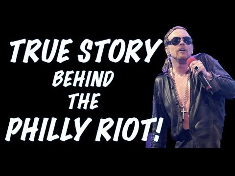 Guns N' Roses: The True Story Behind the Philadelphia Riot (2002) Wells Fargo Center