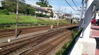 静岡鉄道 桜橋駅折り返し
