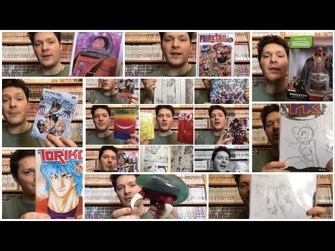 VIDEO ACQUISTI CARTOOMICS MILANO 2016 - Video Acquisti Marzo