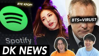 """Download Spotify """"Bye Kpop?"""" / BTS faces racist comments by German DJ / Brave Girls charts #1 [DK NEWS]"""