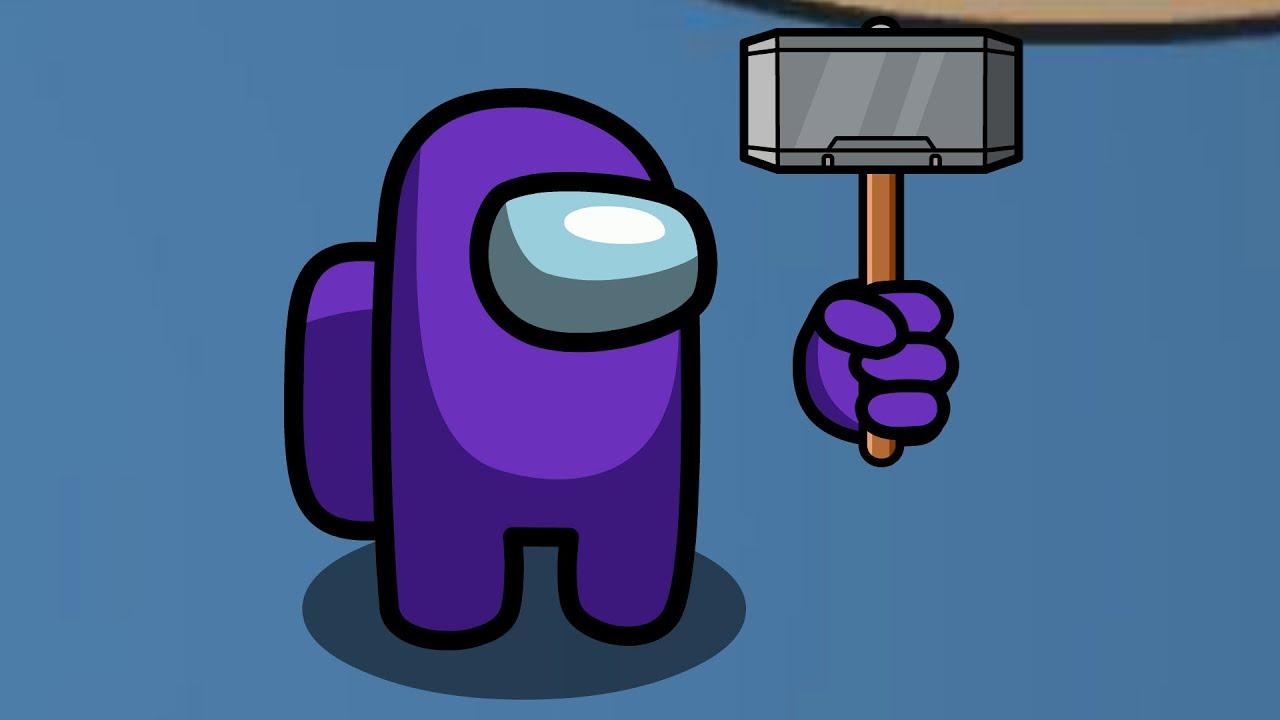 Impostor uses Mjolnir (Thor's Hammer) to Kill a Crewmate