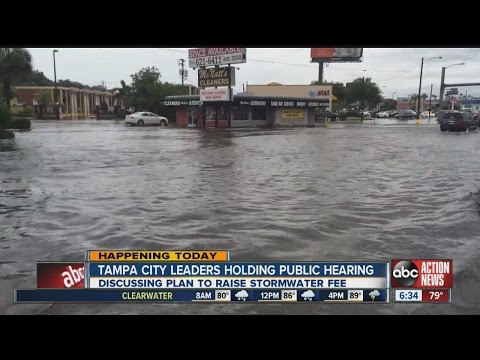 HAPPENING TODAY: Tampa City Council wants to fight flooding with stormwater drainage fee