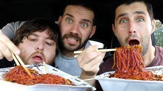EATING THE WORLDS SPICIEST NOODLES! (7,500,000 SCOVILLES)
