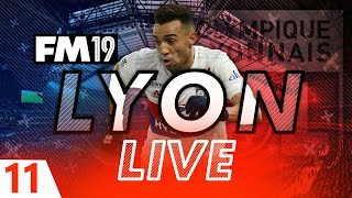 Football Manager 2019 | Lyon Live #11: One More Game #FM19