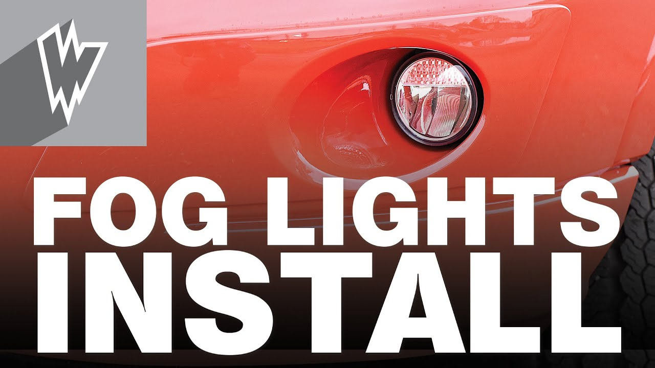 How To Install Ford Transit Fog Light Kit Youtube 05f 250 Wiring Diagram