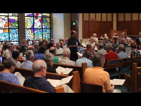 318 Present Joys. National Sacred Harp Convention, 2014. 2/2