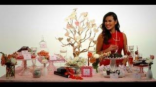 How To Create A Romantic Dessert Table | Valentine's Day | Popsugar Cookbook