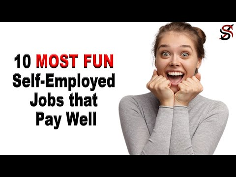 10 Most Fun Self-employed Jobs that Pay well