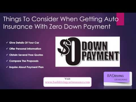 Find Affordable Car Insurance No Down Payment Quotes