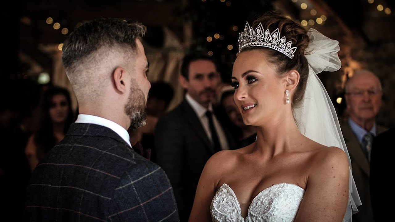 Proud Father Gives Away his Daughter at a Stunning Yorkshire Wedding Venue   Emotional Wedding Video