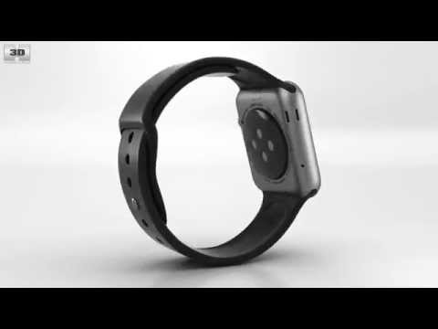 apple-watch-sport-42mm-space-gray-aluminum-case-black-sport-band-by-3d-model-store-humster3d.com