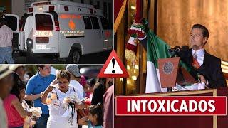 Acarreados al Zócalo, se reportaron como Intoxicados por comer tortas y tacos
