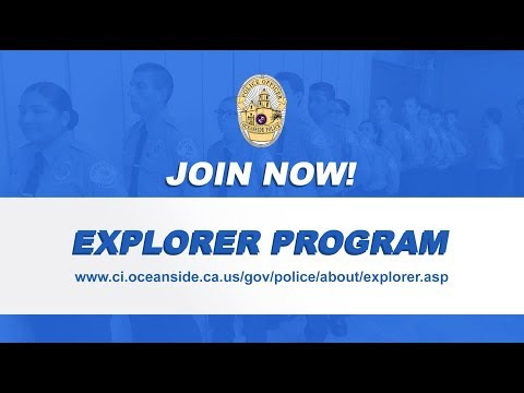 Oceanside Police Department- Explorer Program