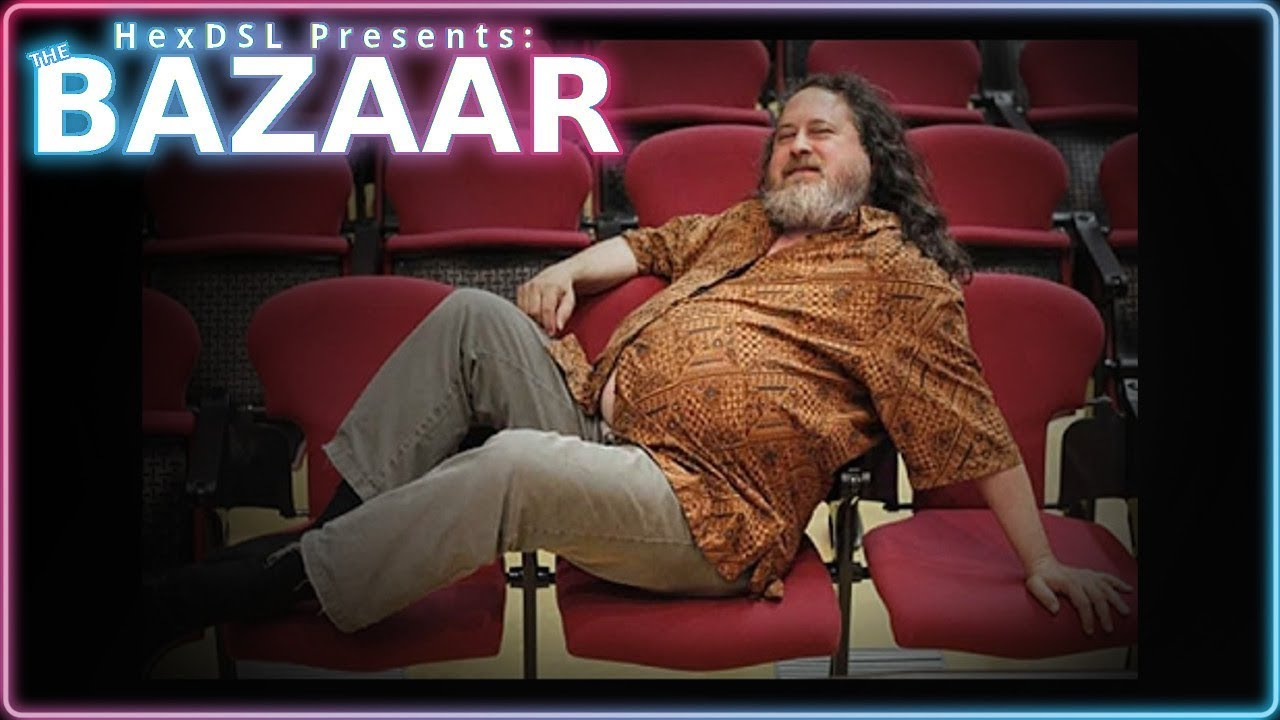 RMS, Hero of Free Software or mad GNU/Linux Wizard? (The Bazaar)