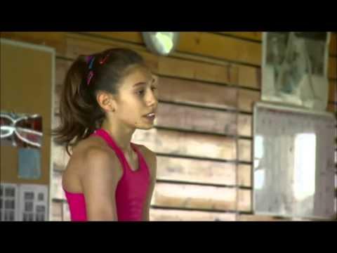Reportaje en TV3 a Clara Esquerdo CAR Sant Cugat gimnasia ritmica
