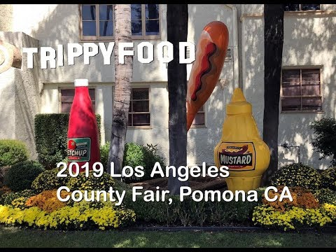 2019 Los Angeles County Fair, Pomona CA - Trippy Food Episode 276