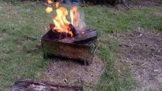 ご視聴ありがとうございますm(_ _)m ノースイーグルNE-1410での焚き火を...