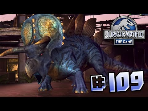 Ceratopsian Attack! || Jurassic World - The Game - Ep 109 HD