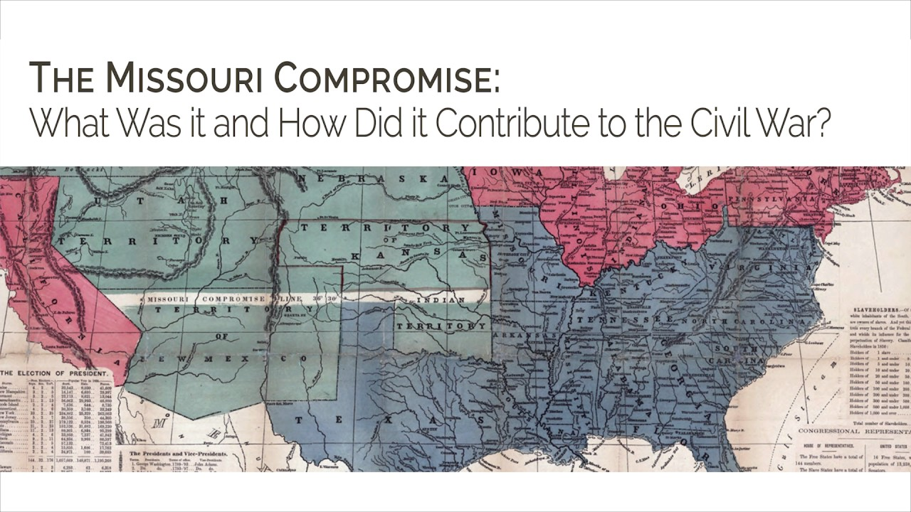 The Missouri Compromise: What Was it and How Did it